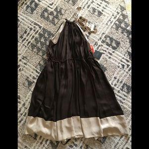 Robert Rodriguez gorgeous silk halter dress